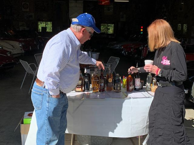 Bruce shares his knowledge about his Bourbon samplings